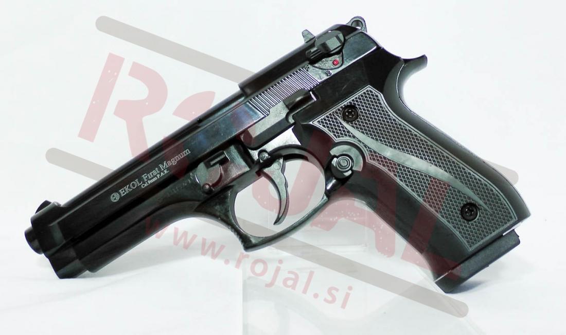 Blank Pistols > Blank Pistols > Firat Magnum 9mm Black