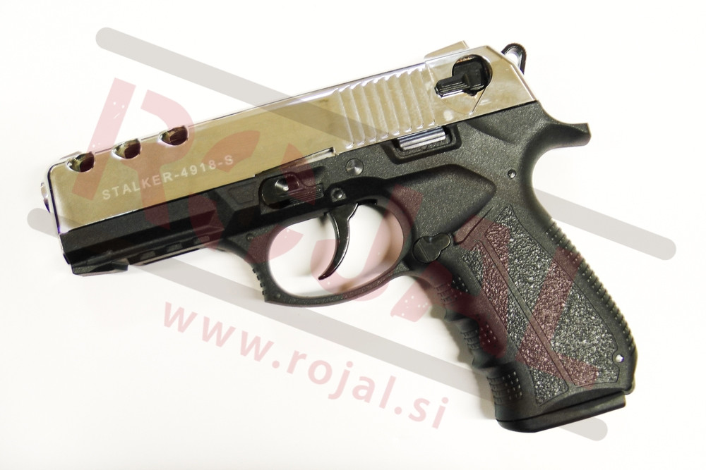 Blank pistols gt blank pistols gt 4918 9mm shiny chrome spletna