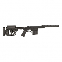 HCR Chassis Stock, complete chassis system with Pistol Grip, Open forend, Luth AR Butt Stock