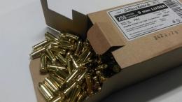9x19 9mm FMJ 8g 250pcs