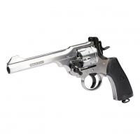 MKVI Revolver 4,5mm BB Silver Finish , air pistol, zračna pištola, pistol, air,
