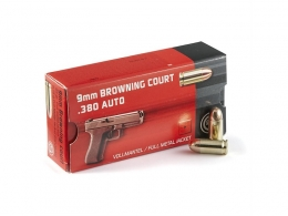 9mm Browning Court/.380 AUTO FMJ 6,15g 50pcs