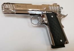1911 Shiny Chrome 9mm
