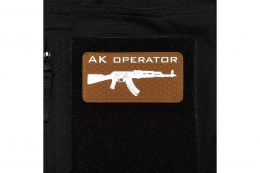 Patch - AK Coyote Brown