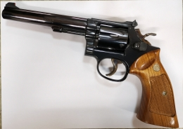 Revolver Smith & Wesson 17-4 .22 lr