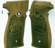 Sig Sauer P226 Wooden Grips